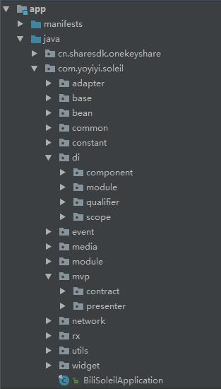 整体项目框架